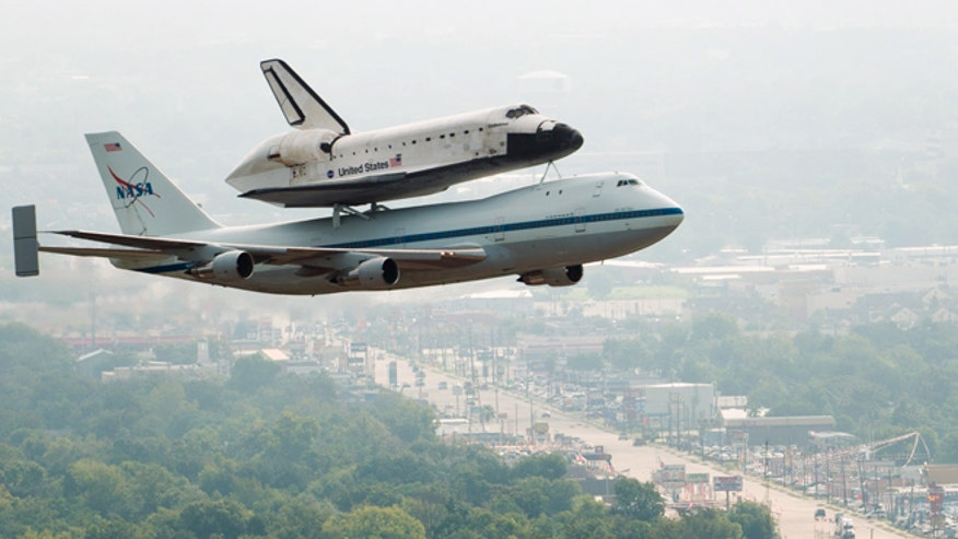 Space Shuttle Endeavour Flyover - Updated OP | Page 3 ... |Space Shuttle Flyover
