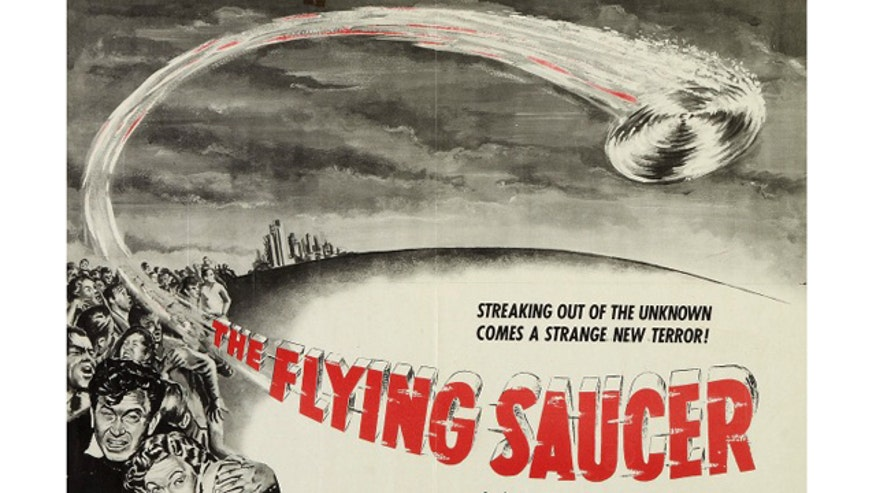 flying saucer movie poster 1950