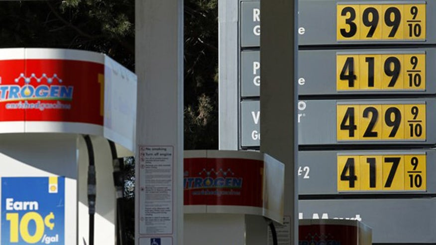 gas prices FILE