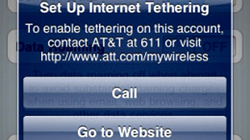 iPhone Tethering?