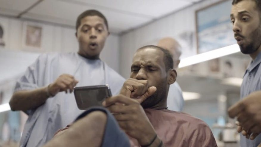 lebron james Samsung add.j