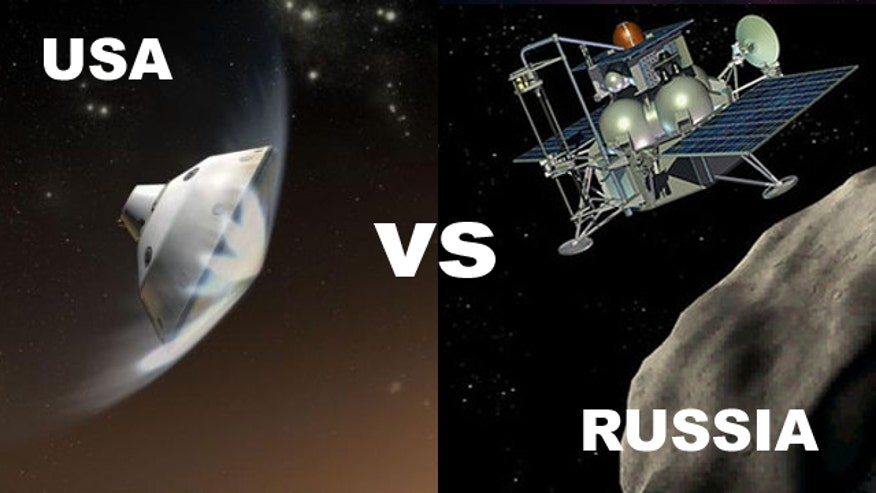 space race to Mars between usa and russia
