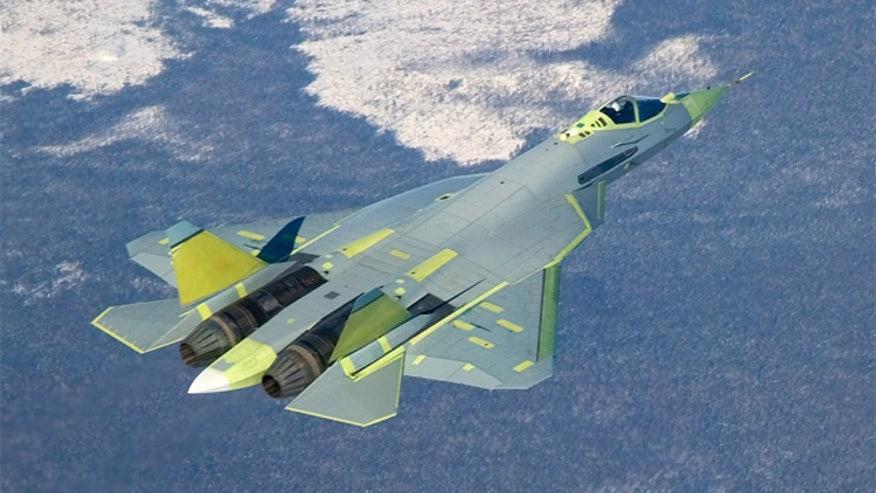 PAK FA T-50 prototype