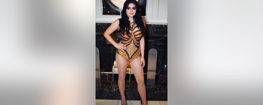 Ariel Winter could moonlight as a Las Vegas showgirl or one of Beyoncé's backup dancers.