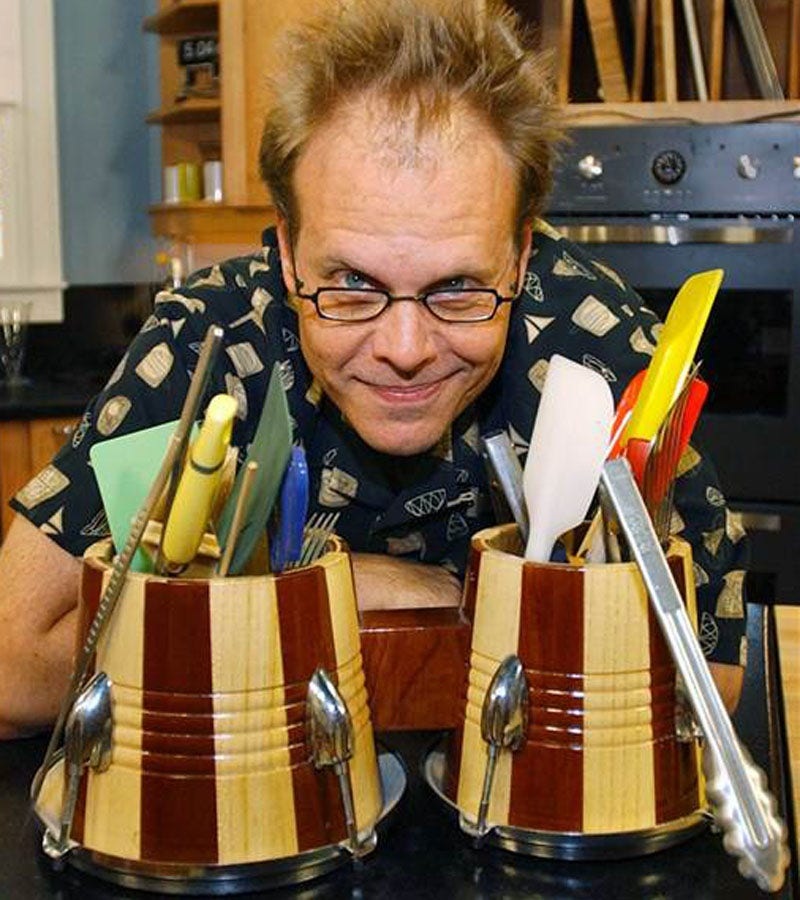Kitchen Alton Brown: Alton Brown Rails Against Useless One-trick Kitchen