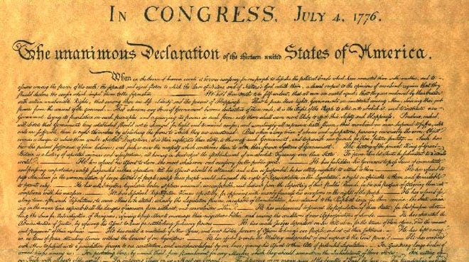 declaration of independence from parents We think we know everything there is to know about the revolutionary war and the fight for american independence from the very declaration of independence, to the.