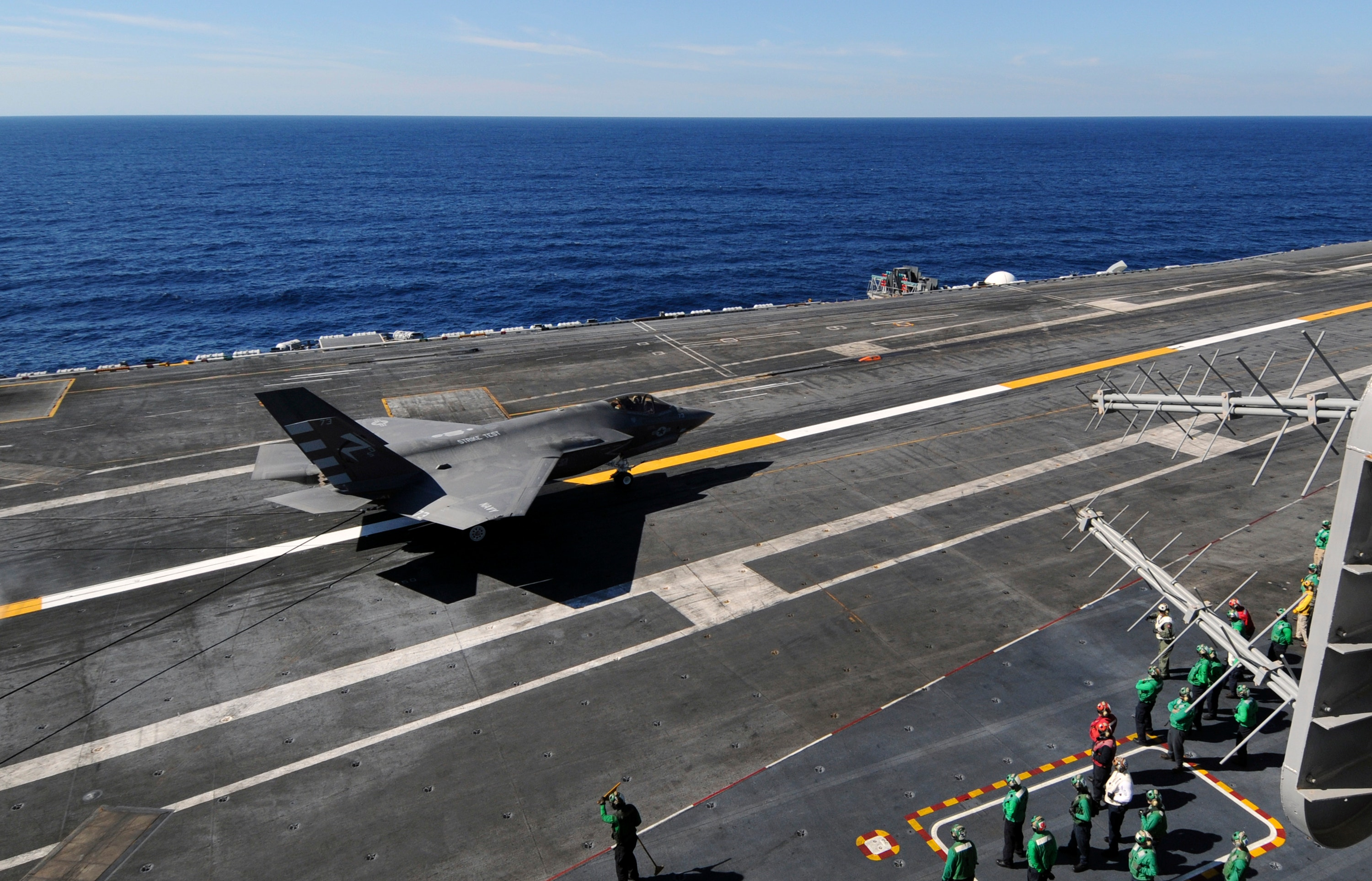 Navy completes first F-35C aircraft carrier landings | Fox ...