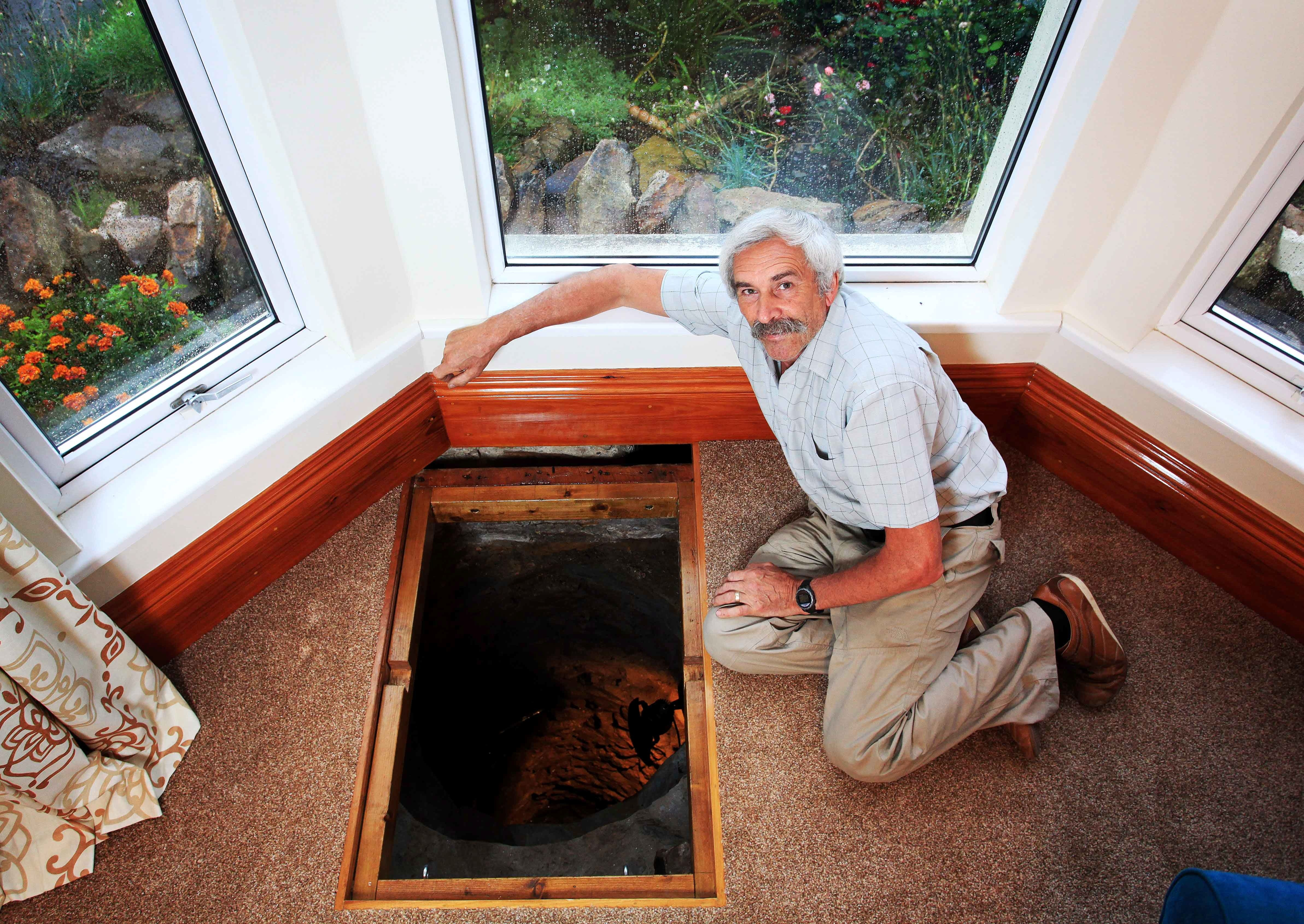 Couple finds medieval well under their living room floor