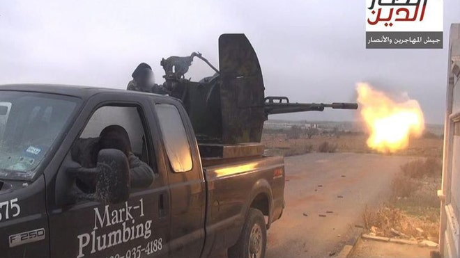Texas Plumber's Old Truck Resurfaces in Syria, Mounted with Terrorists' Guns