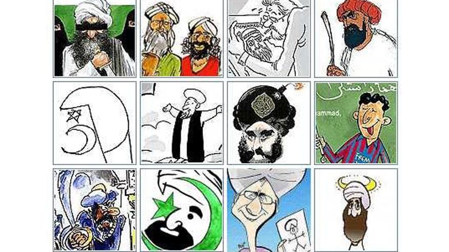 The Muhammed cartoons