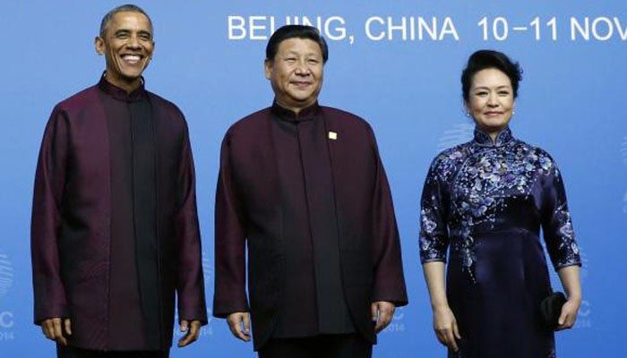Obama Dress China President Obama With China's