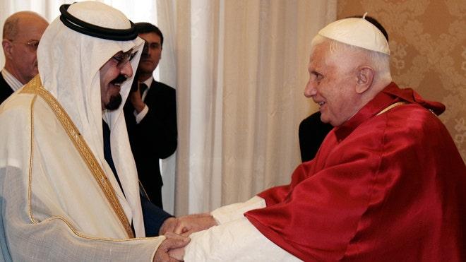 Pope King Abdullah King Abdullah of Saudi Arabia