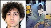 The FBI released images of the pair of suspects believed to be responsible for the bombing attack near the finish line of the Boston Marathon. Investigators are asking for the public's help with any information leading to their whereabouts. The FBI is urging anyone who recognizes the men to call --CALL-FBI or go to the bureau's website, FBI.gov.