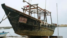 They drift into seas near Japan by the dozens every year, ghostly wrecked ships thought to come from impoverished North