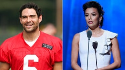 Actress Eva Longoria ended her romance with New York Jet Mark Sanchez last week, and the quarterback is devastated, sources told The New York Post's Page Six.