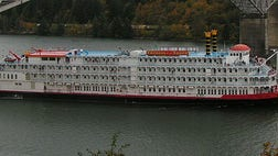 The company that resumed riverboat cruises on the Mississippi River a year ago said Tuesday that it will offer seven-night trips starting next year on the Columbia and Snake rivers in Oregon and Washington.