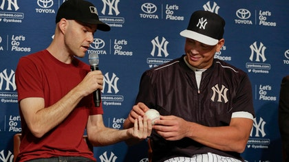 The New York Yankees' Alex Rodriguez finally received his ,th hit baseball Friday, when he and the organization settled i