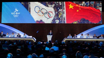 Beijing has been selected to host the  Winter Olympics, becoming the first city awarded both the wint