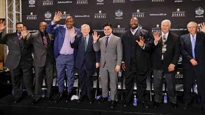 Junior Seau, Jerome Bettis, Tim Brown, Charles Haley and Will Shields were elected Saturday to the Pro Football Hall of Fame.