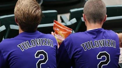 Troy Tulowitzki has a tough name to spell, even at his own ballpark.