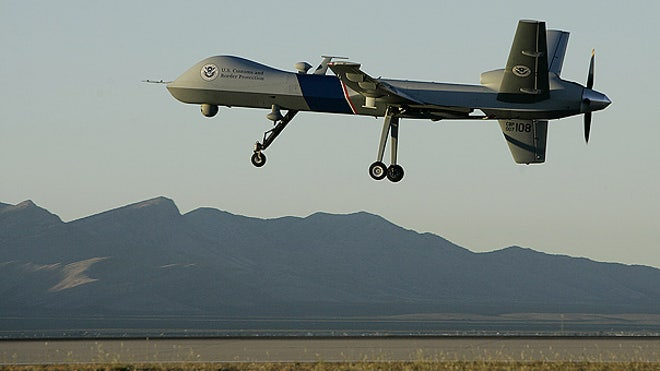 Drone at the border