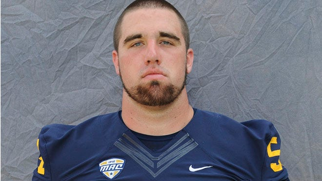 Kent State football player Jason Bitsko, who was slated to start at center for the Golden Flashes this season, died Wednesday.