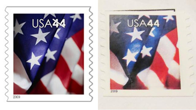 STAMPS REAL AND FAKE