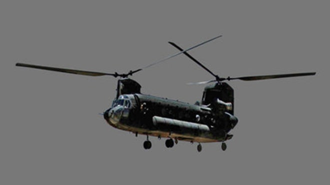 chinook US helicopter
