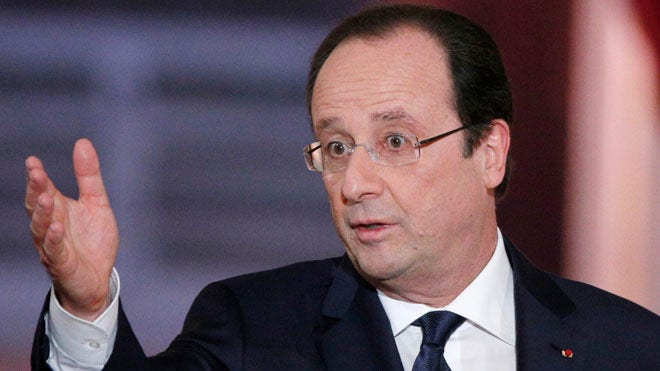 French President Francois Hollande was dogged by further revelations about his private life after a report emerged that claimed a love affair in which he had been engaged took place in an apartment linked to Corsican mobsters.