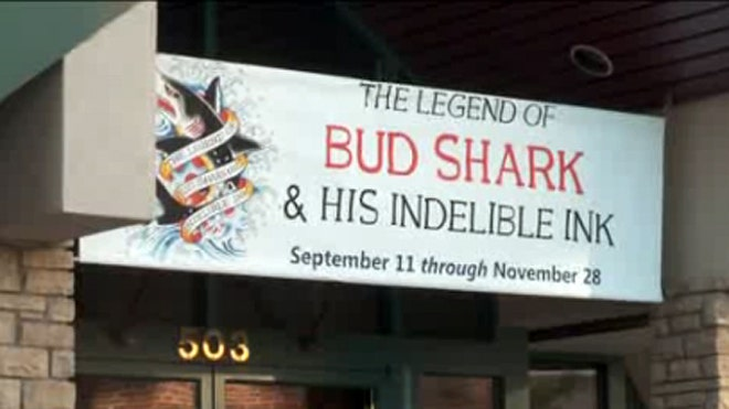 The Legend of Bud Shark and His Indelible Ink