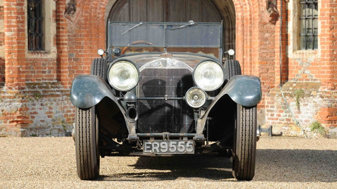 1928 Mercedes discovered in garage after 60 years to be auctioned