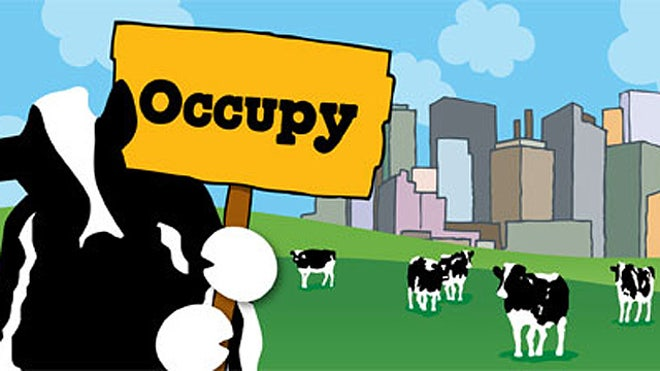 Ben & Jerry's supports Occupy Wall Street