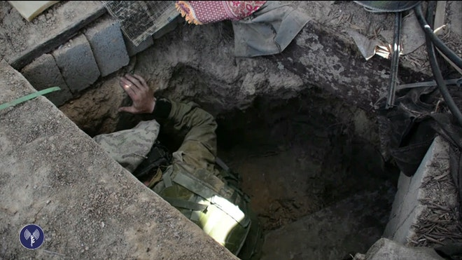 While rockets and mortar fly through the sky in Gaza and southern Israel, the Jewish state's military's focus is underground, on the warren of tunnels they say allow Hamas operatives to move freely in and out of the Palestinian territory committing acts of terror.
