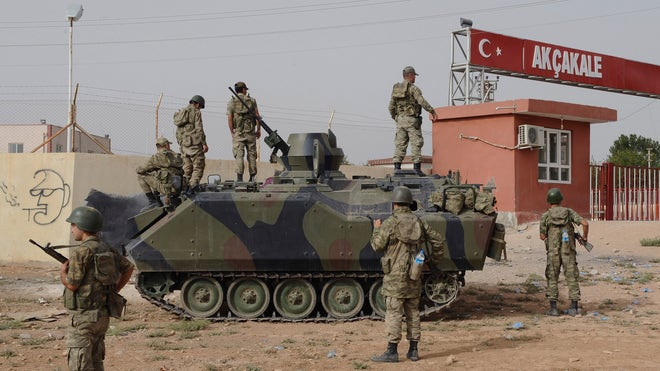 Turkey Fires Artillery Into Syria After Shelling
