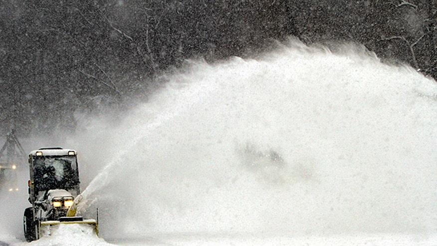 N.H. Snow Blower