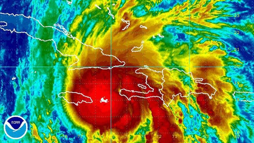 Tomas, now a hurricane