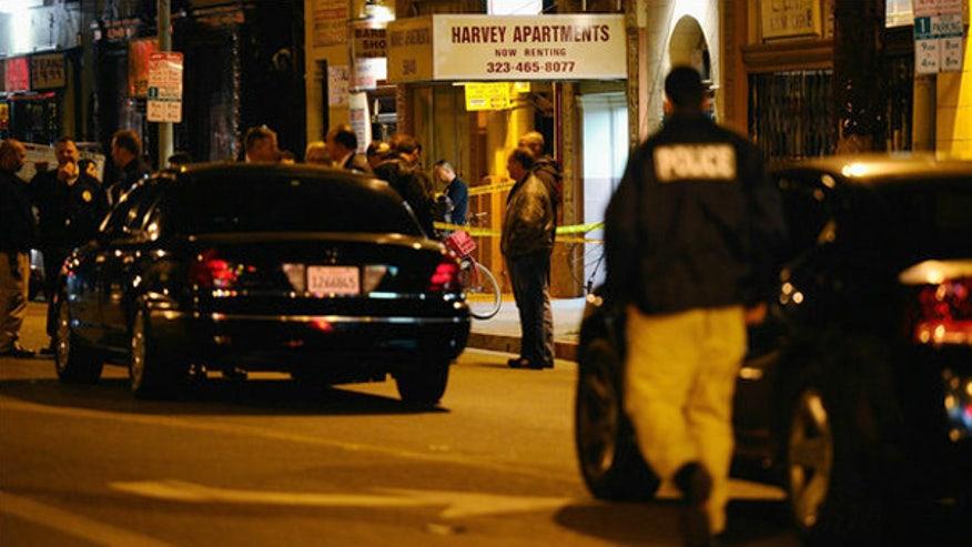 Scene: LA publicist murder suspect kills self