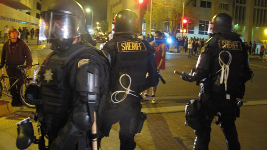 Arrests made as Albuquerque mayor says protest over police ...