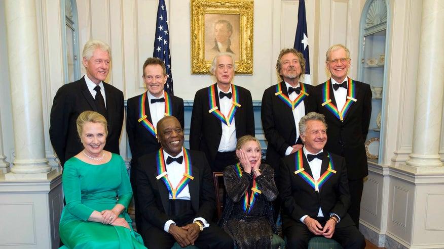 Letterman, Led Zeppelin receive Kennedy Center Honors ...