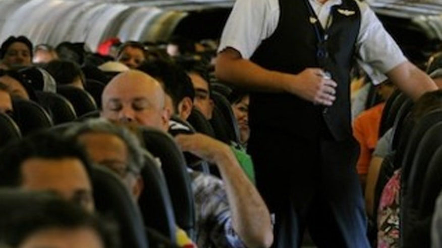 Congressman wants a minimum seat size on commercial airlines