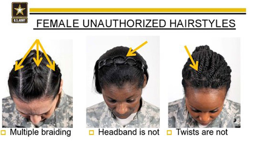 Army to review hair rules after complaints from black military women