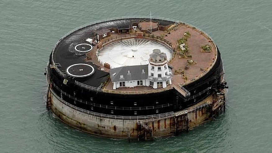 No Man's Land Fort is fit for a Bond villain