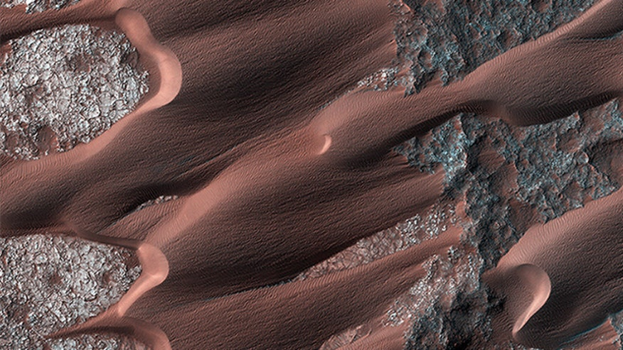 Mars' dune fields being shaped by weather systems