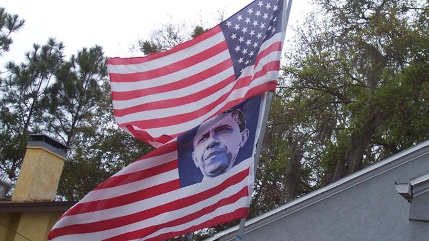 Obama flag 2
