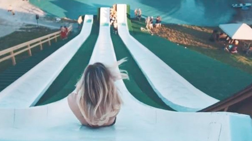 Is This the Scariest Water Slide Ever?