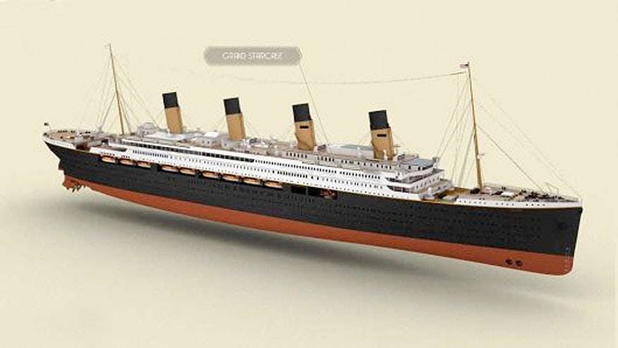 Replica of Titanic will now set sail in 2018