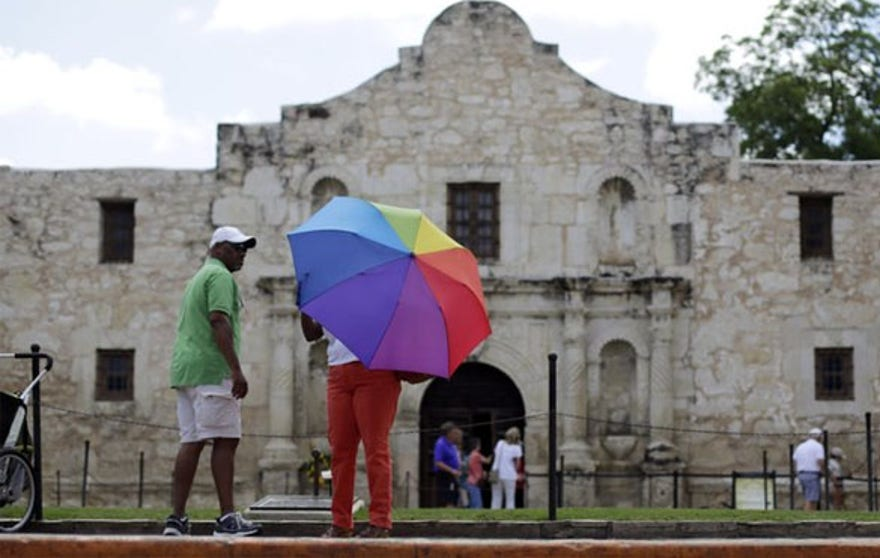 The Alamo is now a World Heritage site