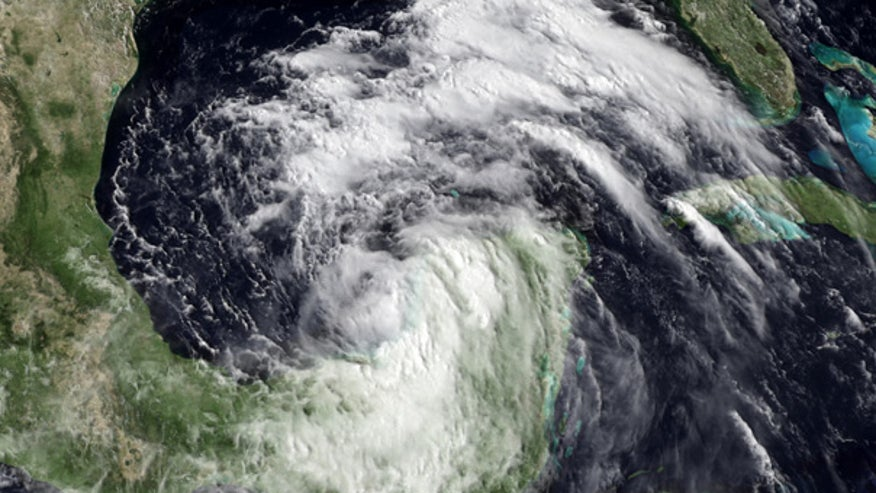 TS Alex satellite from NOAA
