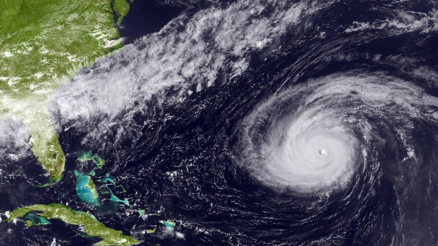 Hurricane Danielle sat