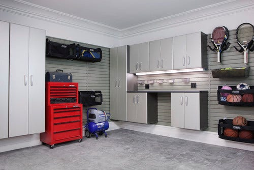 8 tips for a supremely organized winter garage fox news for Closet world garage
